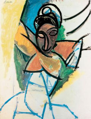 Пабло Пикассо. Женщина