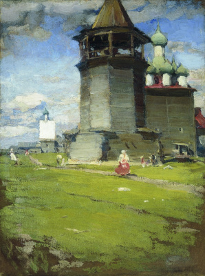 Abram Arkhipov. Church