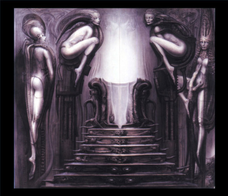 Hans Rudolph Giger. The passage of the temple - the path of the magician