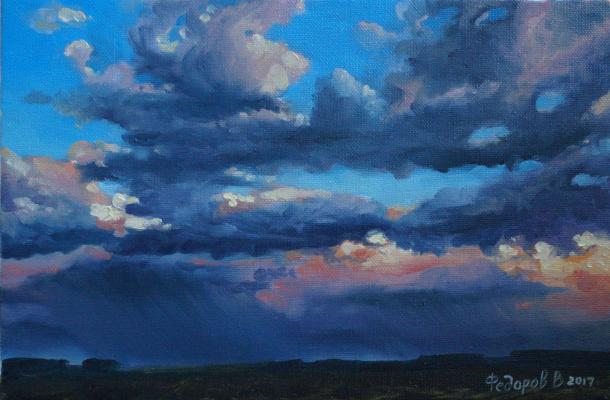 Valery Fedorov. Stormy evening