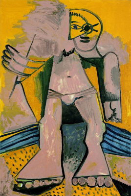 Pablo Picasso. Character