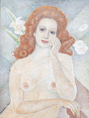 Maria Bronislavovna Marevna (Vorobyeva-Stebelskaya). Jan.1968
