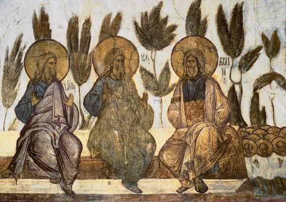 Даниил Чёрный. Страшный суд: Иаков, Авраам и Исаак в раю