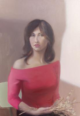 Elena Valyavina. Self-portrait