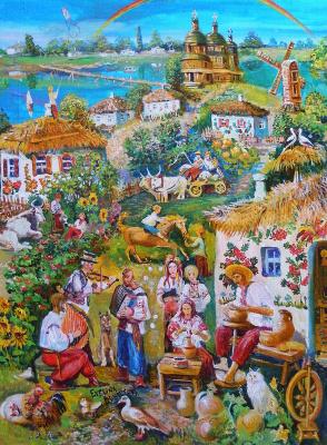 Village of Sinitsa, Kiev region