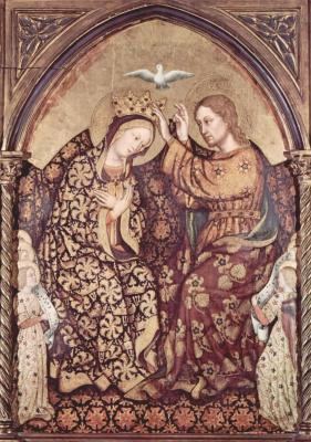 Джентиле да Фабриано. Коронование Марии