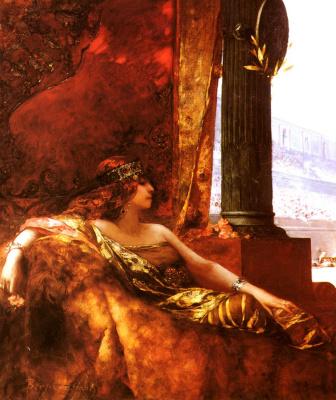Жан-Жозеф Бенжамен-Констан. Императрица Феодора в Колизее