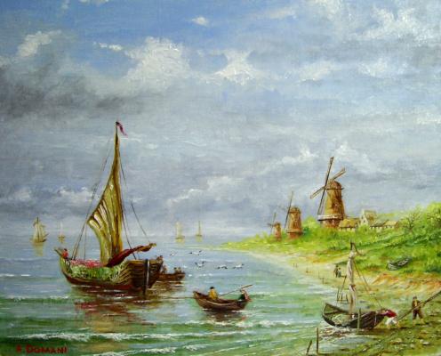 Андрей Доманин. Морской пейзаж 2