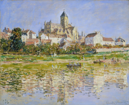 Claude Monet. The Church at Vétheuil