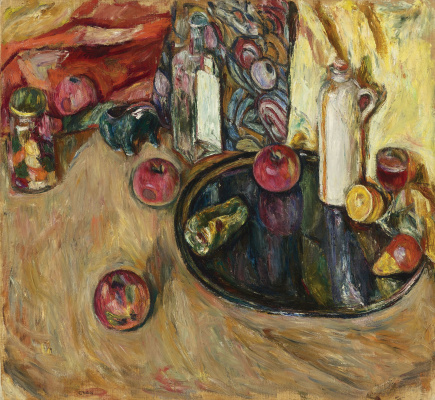 Абрам Аншелевич Маневич. Still life with apples