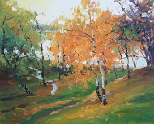 Violetta Dudnikova. Autumn in Tsaritsyno
