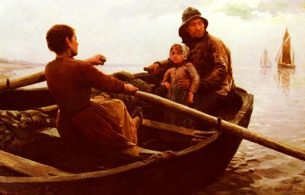 Джеймсон Миддлтон. Дочь рыбака