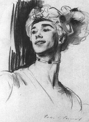 Джон Сингер Сарджент. Портрет Вацлава Нижинского