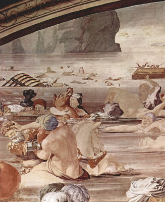 Agnolo Bronzino. Israelis crossing the Red Sea