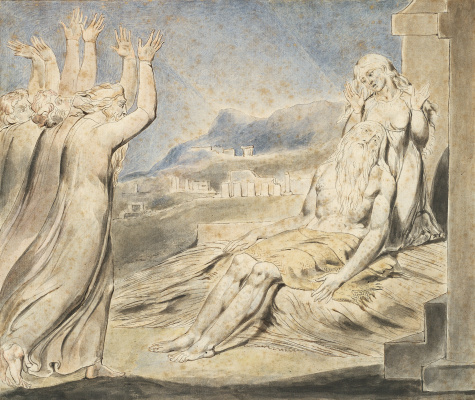 William Blake. The Book Of Job. Consolation Job
