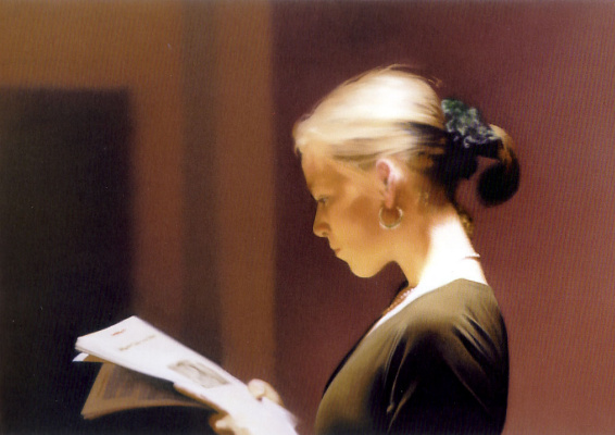 Gerhard Richter. Reading
