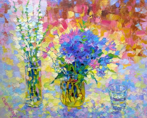 Natalia Valerievna Chepulskaya. Cornflowers