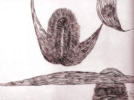 Луиза Буржуа. Летающие фигуры