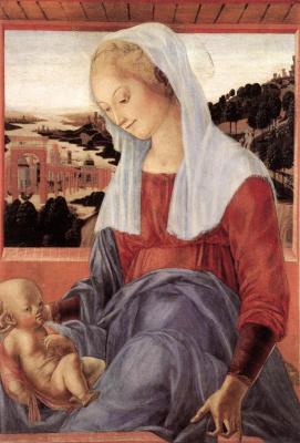 Франческо ди Джорджио Мартини. Мадонна с младенцем