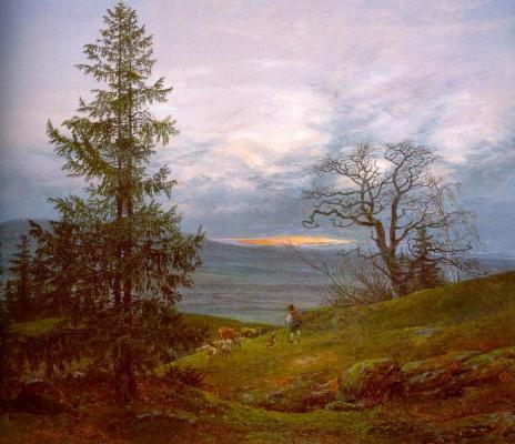 Ханс Даль. Дерево