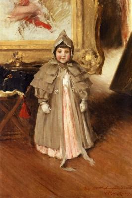William Merritt Chase. My little daughter Dorothy