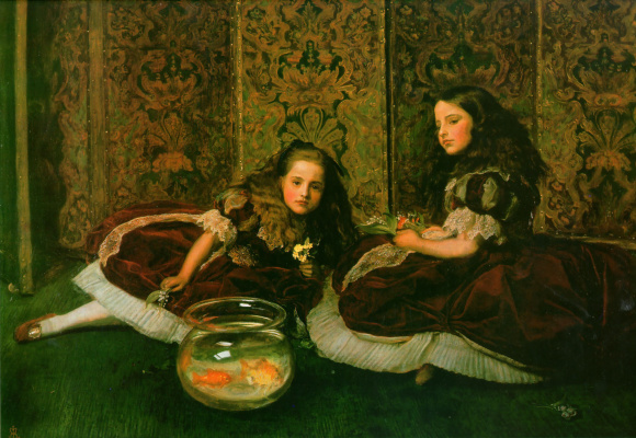 John Everett Millais. Leisure time