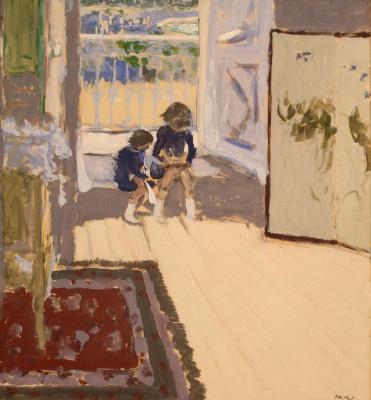 Jean Edouard Vuillard. The children in the room