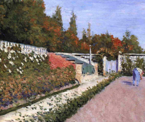 Gustave Caillebotte. The gardener