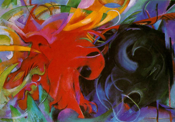 Franz Marc. Battle of the forms
