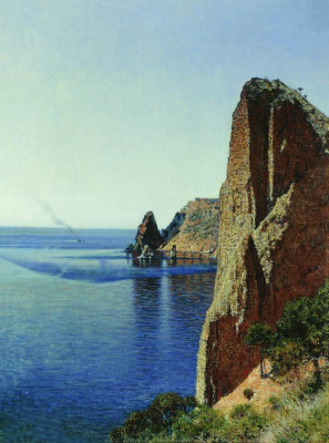Vasily Vasilyevich Vereshchagin. Cape Fiolent near Sevastopol