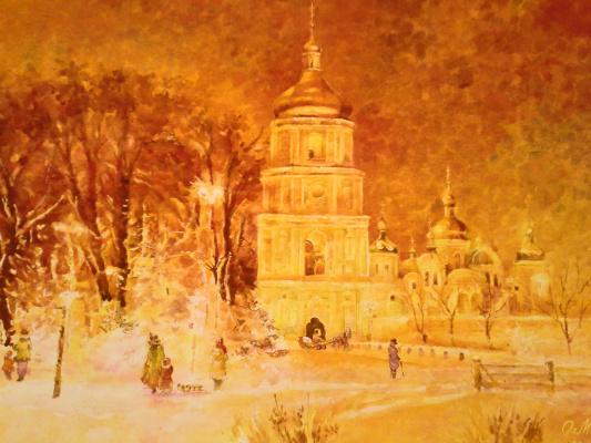 Alexey Yuryevich Maslov. Night Sophia