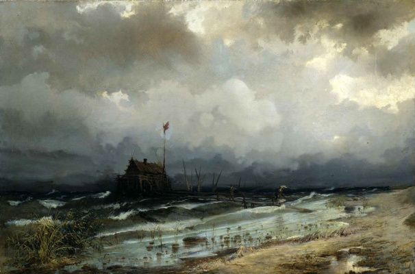 Rufin Gavriilovich Sudkovsky. Before the storm