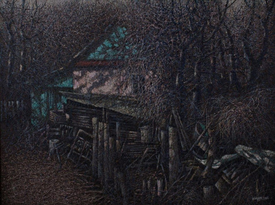 Ivan Stepanovich Marchuk. In our yard