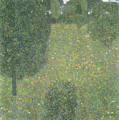 Густав Климт. Цветущий луг