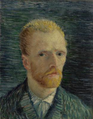 Vincent van Gogh. Self portrait 1887