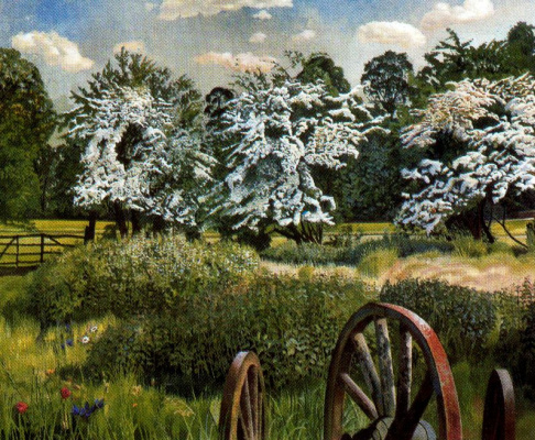 Stanley Spencer. Meadows Music, Cookham