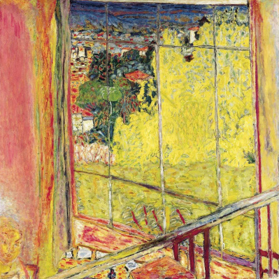 Pierre Bonnard. The workshop with Mimosa