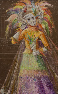 Oh A Stasevich. The carnival of Venice