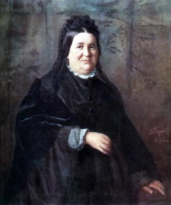 Vasily Grigorievich Perov. Portrait of A. I. Kridener born Ivanova, mother of the artist
