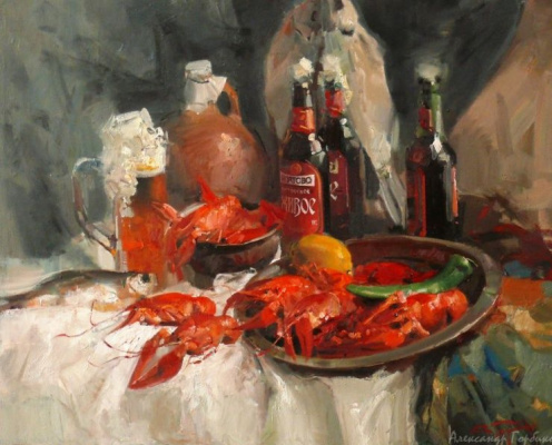 Alexander Vladimirovich Gorbikov. Beer and crawfish
