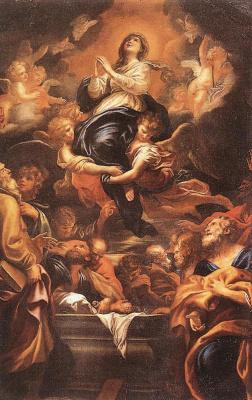 Доменико Пиола. Успения Пресвятой Богородицы