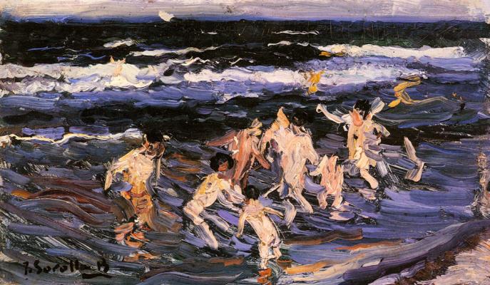 Хоакин Соролья (Соройя). Дети в море