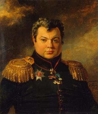 George Dow. Portrait of Gabriel Petrovich Veselitsky