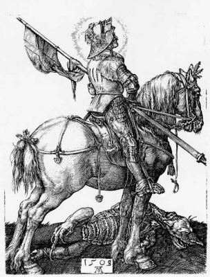 Альбрехт Дюрер. Святой Георгий на коне