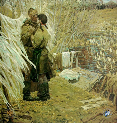 Victor Konstantinovich Dmitrievsky. In the second tier