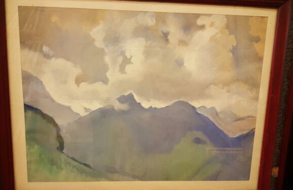 Zinaida Serebryakova. The Swiss Alps