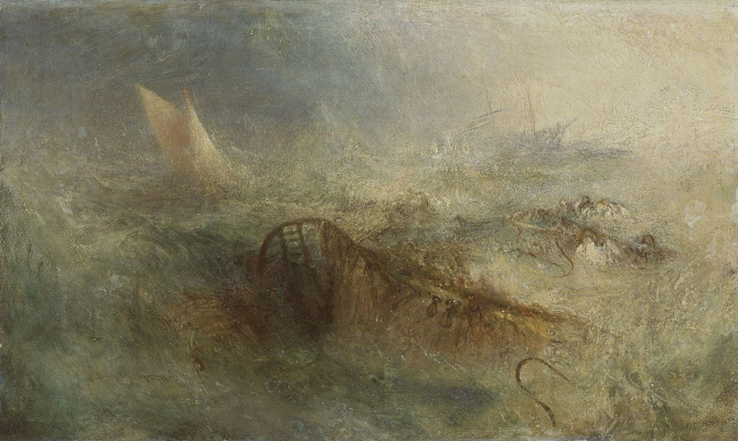 Joseph Mallord William Turner. Storm