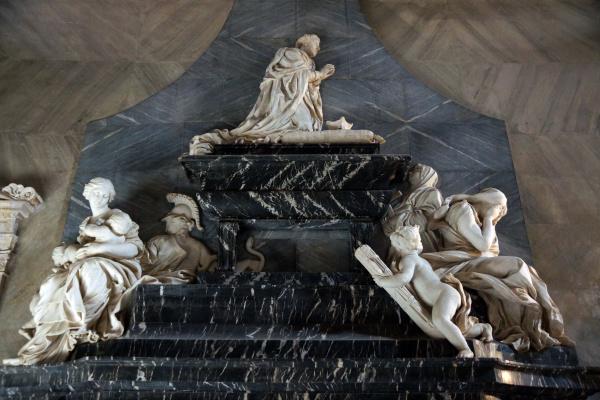 Gian Lorenzo Bernini. The tomb of cardinal Domenico Pimentel