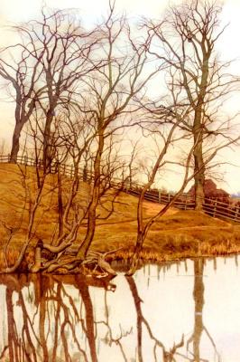 Уильям Фрейзер Гарден. Вид с реки