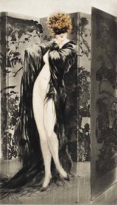 Icarus Louis France 1888 - 1950. Venetian shawl. 1921